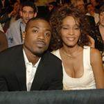 Whitney Houston and Ray J in Vegas to watch boxing match 19605
