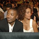 Whitney Houston and Ray J in Vegas to watch boxing match 19604