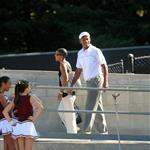 Will Smith celebrates 40th birthday at son Trey's football game 25275