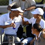 Will Smith celebrates 40th birthday at son Trey's football game 25278