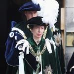 Prince William at the Thistle Ceremony in Edinburgh, Scotland with Queen Elizabeth, Prince Philip and Princess Anne 119695