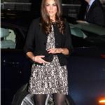 Catherine, Duchess of Cambridge arrives for a Gary Barlow Concert at the Royal Albert Hall 100036