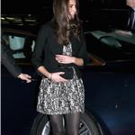 Catherine, Duchess of Cambridge arrives for a Gary Barlow Concert at the Royal Albert Hall 100038
