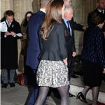 Catherine, Duchess of Cambridge arrives for a Gary Barlow Concert at the Royal Albert Hall 100041