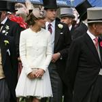 Prince William and Catherine at Epsom Derby June 2011  86842