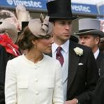 Prince William and Catherine at Epsom Derby June 2011  86843