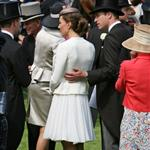 Prince William and Catherine at Epsom Derby June 2011  86844