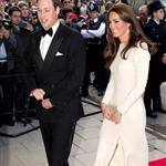Prince William and Catherine, Duchess of Cambridge at  Claridge's hotel for an Advertising World dinner in London 114028