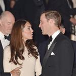 Prince William and Catherine, Duchess of Cambridge at  Claridge's hotel for an Advertising World dinner in London 114030