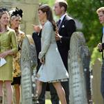Prince William and Catherine attend a wedding in England 117014