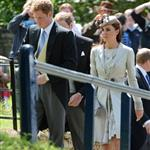 Prince William and Catherine attend a wedding in England with Prince Harry 117026