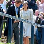 Prince William and Catherine attend a wedding in England with Prince Harry 117028