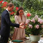 Catherine, Duchess of Cambridge and Prince William visit Singapore Botanical Gardens on day 1 of their Diamond Jubilee tour in Singapore 125703