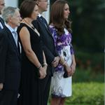 Catherine, Duchess of Cambridge and Prince William at The Istana on day 1 of their Diamond Jubilee tour in Singapore 125713