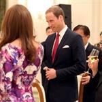 Catherine, Duchess of Cambridge and Prince William at The Istana on day 1 of their Diamond Jubilee tour in Singapore 125729