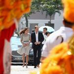 Prince William and Catherine, Duchess of Cambridge on day 2 of their Diamond Jubilee Tour of Singapore  125870