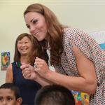 Prince William and Catherine, Duchess of Cambridge on day 2 of their Diamond Jubilee Tour of Singapore  125887