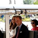 Prince William and Catherine, Duchess of Cambridge on day 2 of their Diamond Jubilee Tour of Singapore  125891