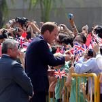 Prince William and Catherine, Duchess of Cambridge on day 2 of their Diamond Jubilee Tour of Singapore  125894