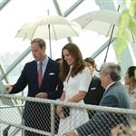Prince William and Catherine, Duchess of Cambridge on day 2 of their Diamond Jubilee Tour of Singapore  125900