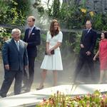 Prince William and Catherine, Duchess of Cambridge on day 2 of their Diamond Jubilee Tour of Singapore  125902