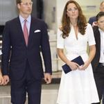Prince William and Catherine, Duchess of Cambridge on day 2 of their Diamond Jubilee Tour of Singapore  125906