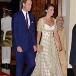 The Duke and Duchess of Cambridge attend a dinner hosted by the King of Malaysia, at the King's Istana, in Kuala Lumpur, Malaysia 126187
