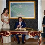 The Duke and Duchess of Cambridge attend a dinner hosted by the King of Malaysia, at the King's Istana, in Kuala Lumpur, Malaysia 126193
