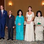 The Duke and Duchess of Cambridge attend a dinner hosted by the King of Malaysia, at the King's Istana, in Kuala Lumpur, Malaysia 126206