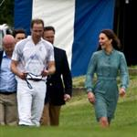 Prince William and Catherine at a polo match at Cowarth Park Windsor 114397
