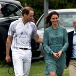 Prince William and Catherine at a polo match at Cowarth Park Windsor 114398