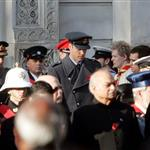 Prince William at the Remembrance Sunday commemorations held at the Cenotaph in London, England 98271