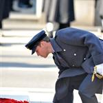 Prince William at the Remembrance Sunday commemorations held at the Cenotaph in London, England 98275