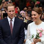 Prince William, Duke of Cambridge and Catherine, Duchess of Cambridge in Kuala Lumpur, Malaysia on day 4 of the Diamond Jubilee Tour of the Far East  126249