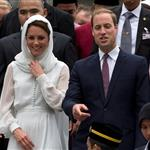 Prince William, Duke of Cambridge and Catherine, Duchess of Cambridge in Kuala Lumpur, Malaysia on day 4 of the Diamond Jubilee Tour of the Far East  126255