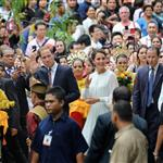 Prince William, Duke of Cambridge and Catherine, Duchess of Cambridge in Kuala Lumpur, Malaysia on day 4 of the Diamond Jubilee Tour of the Far East  126259