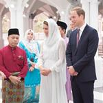 Prince William, Duke of Cambridge and Catherine, Duchess of Cambridge in Kuala Lumpur, Malaysia on day 4 of the Diamond Jubilee Tour of the Far East  126268