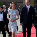 Prince William, Duke of Cambridge and Catherine, Duchess of Cambridge in Kuala Lumpur, Malaysia on day 4 of the Diamond Jubilee Tour of the Far East  126281