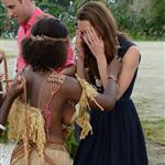 Prince William and Catherine, Duchess of Cambridge tour the Solomon Islands as part of their Diamond Jubilee tour of the Far East 126351