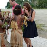 Prince William and Catherine, Duchess of Cambridge tour the Solomon Islands as part of their Diamond Jubilee tour of the Far East 126352