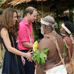 Prince William and Catherine, Duchess of Cambridge tour the Solomon Islands as part of their Diamond Jubilee tour of the Far East 126356