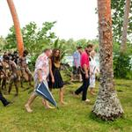 Prince William and Catherine, Duchess of Cambridge tour the Solomon Islands as part of their Diamond Jubilee tour of the Far East 126359