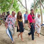 Prince William and Catherine, Duchess of Cambridge tour the Solomon Islands as part of their Diamond Jubilee tour of the Far East 126360
