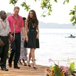 Prince William and Catherine, Duchess of Cambridge tour the Solomon Islands as part of their Diamond Jubilee tour of the Far East 126361