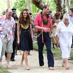 Prince William and Catherine, Duchess of Cambridge tour the Solomon Islands as part of their Diamond Jubilee tour of the Far East 126362
