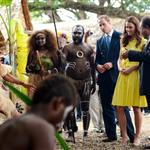 Prince William and Catherine, Duchess of Cambridge tour the Solomon Islands as part of their Diamond Jubilee tour of the Far East 126387