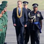 Prince William and Catherine, Duchess of Cambridge tour the Solomon Islands as part of their Diamond Jubilee tour of the Far East 126400