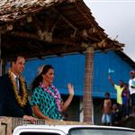 Prince William and Catherine, Duchess of Cambridge tour the Solomon Islands as part of their Diamond Jubilee tour of the Far East 126406