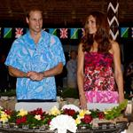Prince William and Catherine, Duchess of Cambridge tour the Solomon Islands as part of their Diamond Jubilee tour of the Far East 126411