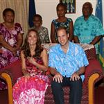 Prince William and Catherine, Duchess of Cambridge tour the Solomon Islands as part of their Diamond Jubilee tour of the Far East 126413